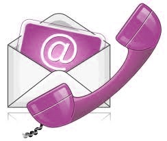 Email and phone icon